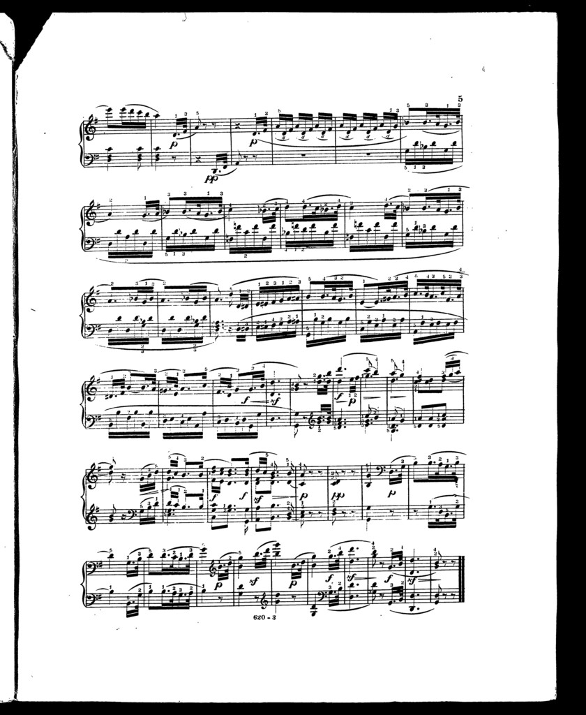 Andante From Fifth Symphony Op 67 Picryl Public Domain Image
