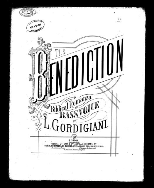 Benediction, The - La Benedizione