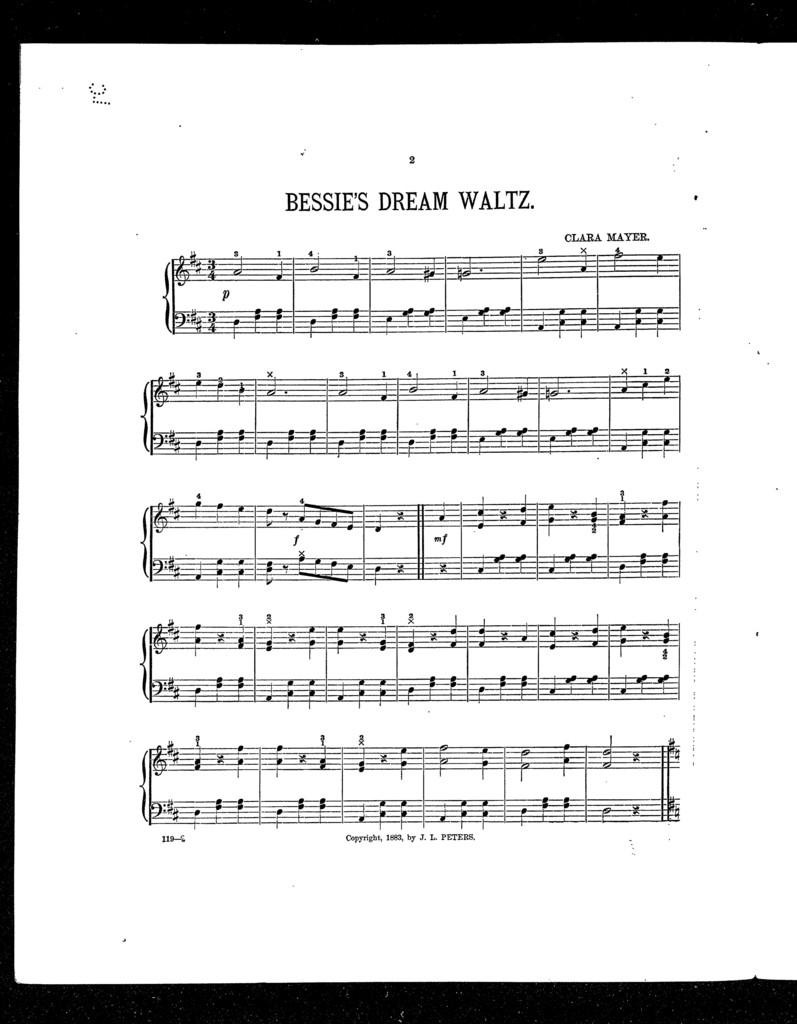 Bessie's dream waltz