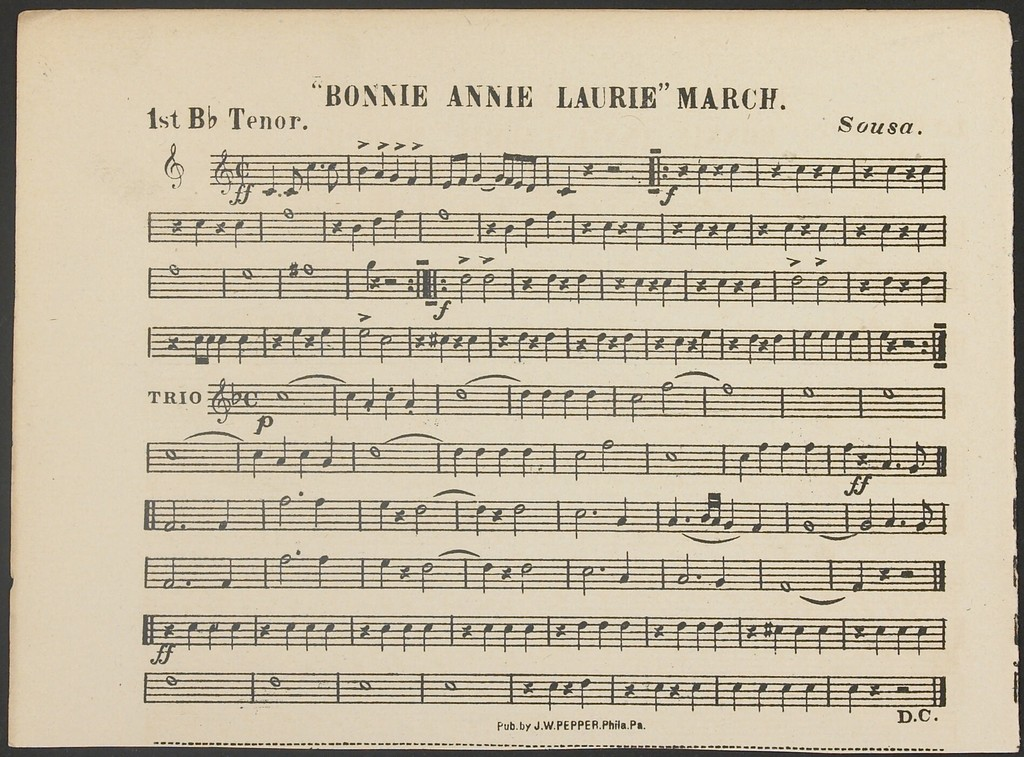 Bonnie Annie Laurie March