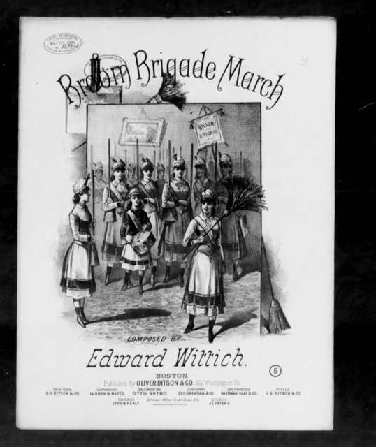 Broom brigade march