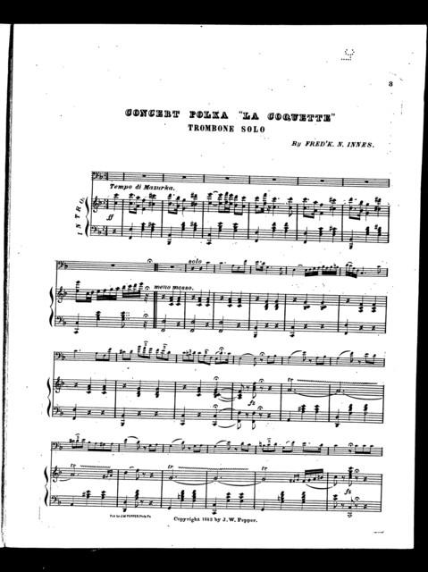 """Concert polka """"La Coquette"""""""