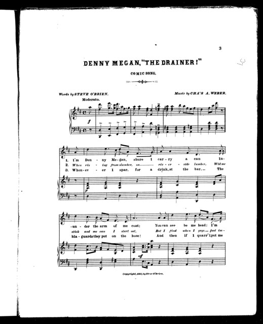 """Denny Megan; """"The Drainer!"""" Comic song"""