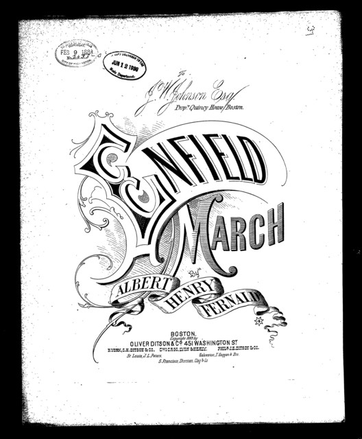 Enfield, The; March
