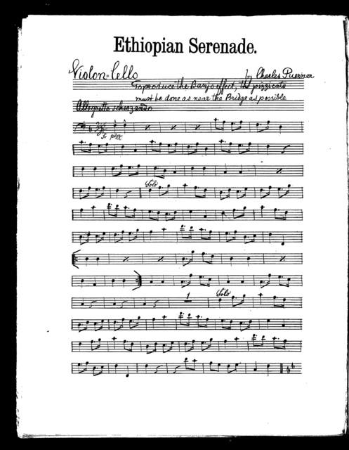 Ethiopian serenade