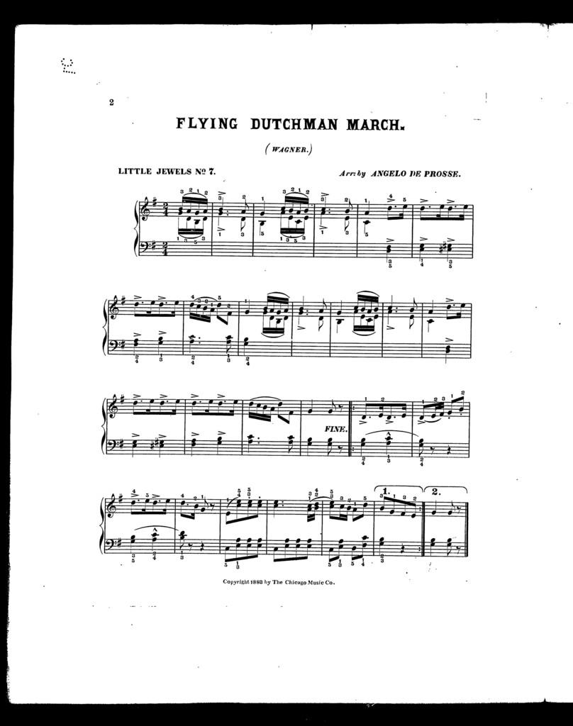 Flying Dutchman march