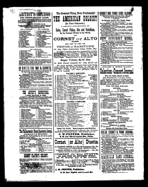 Folies bergeres, Les; Concert polka