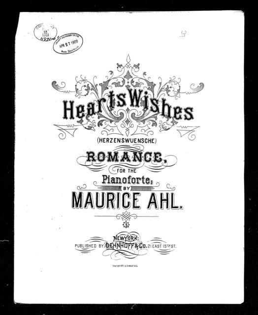 Herzenswuensche - Heart's wishes; Romance