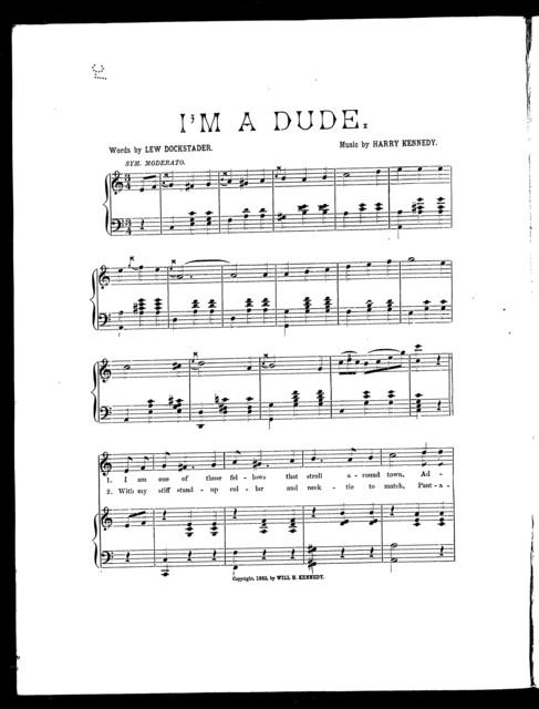 I'm a Dude!