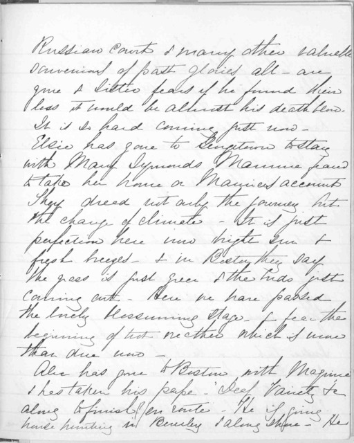 Journal by Mabel Hubbard Bell, from July 20, 1883 to October 6, 1884