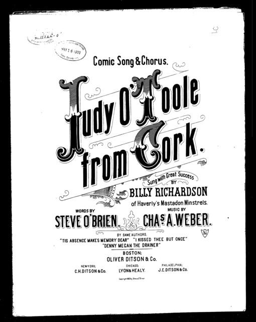 Judy O'Toole from Cork