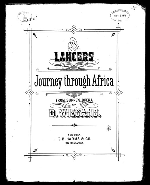 Lancers, journey through Africa