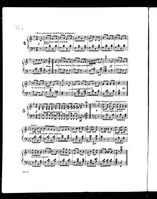 Lanciers quadrille [from] Iolanthe