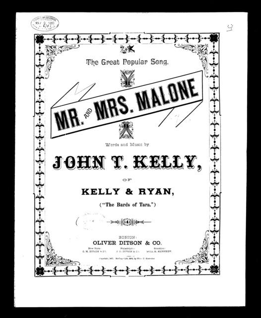 Mr. & Mrs. Malone