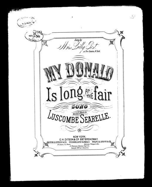 My Donald is long at the fair
