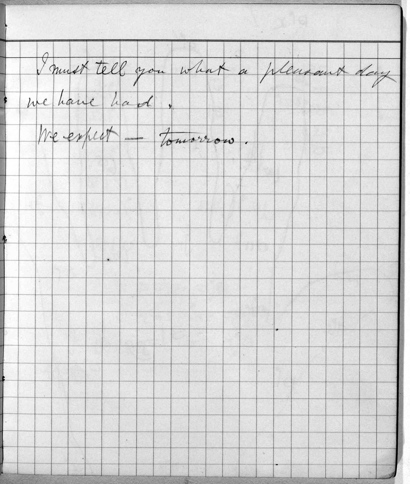 Notebook by Alexander Graham Bell, from January 19, 1883 to January 23, 1883