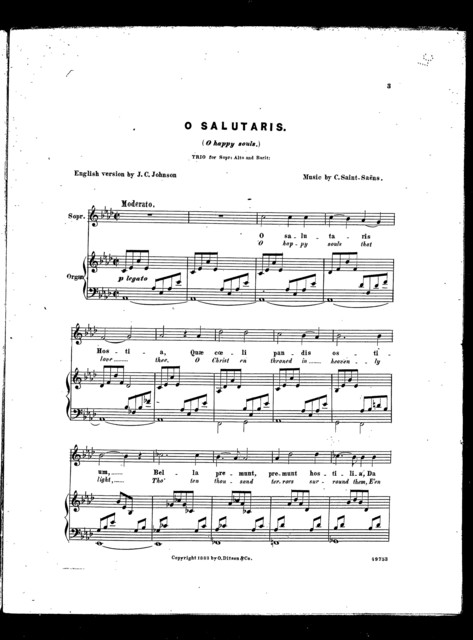 O Salutaris - O Happy souls