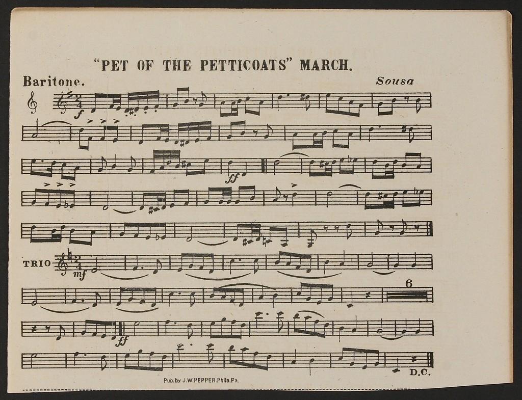 Pet of the Petticoats
