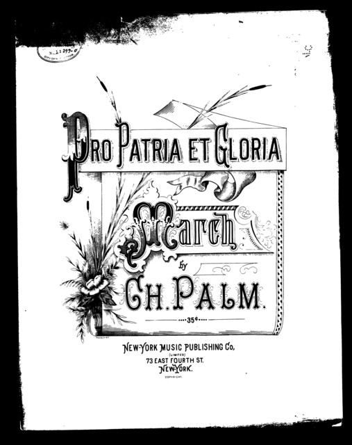 Pro patria et gloria; March
