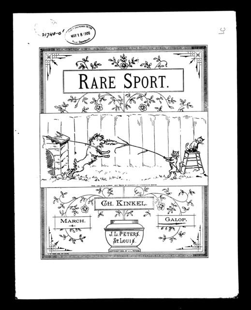 Rare sport galop