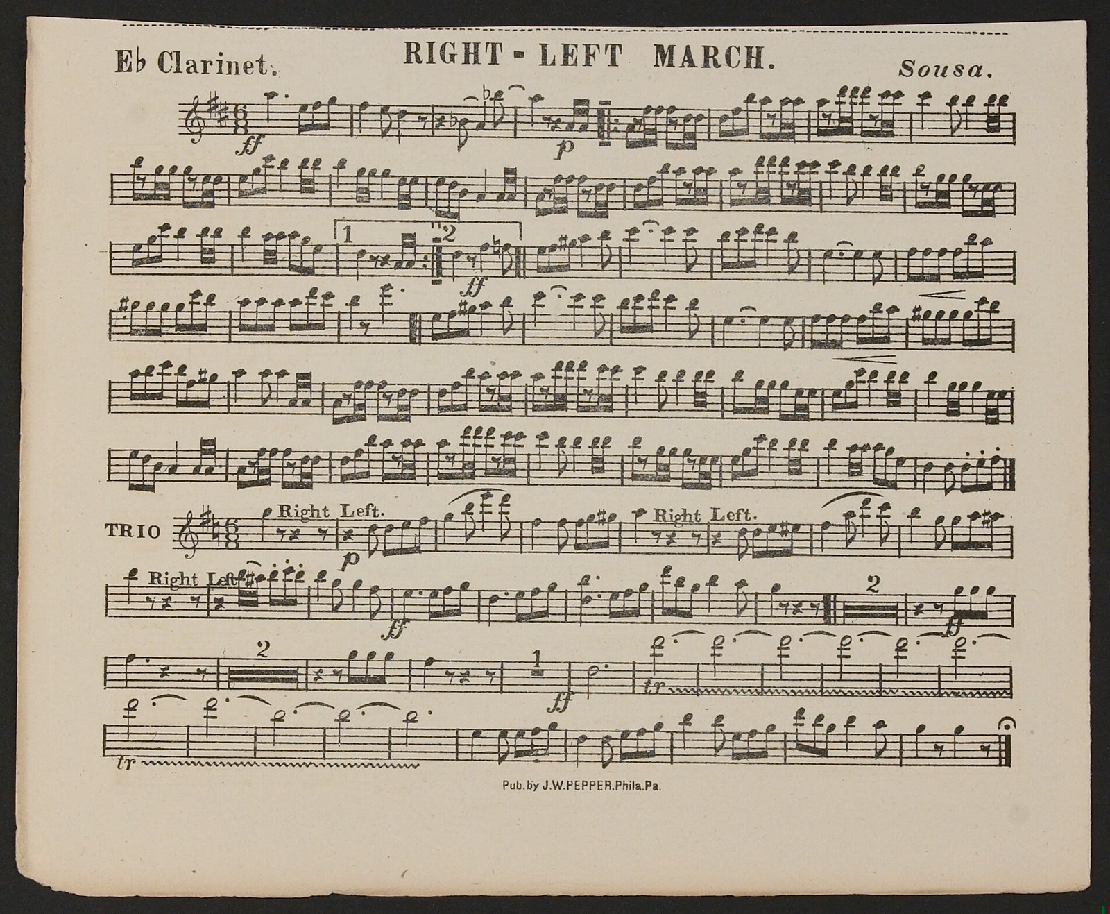 Right-Left March