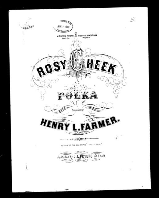 """ Rosy cheek"" polka"