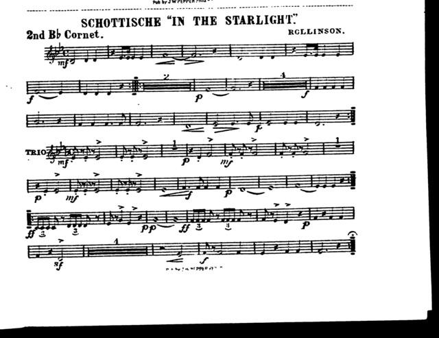 "Schottische ""In the starlight"""