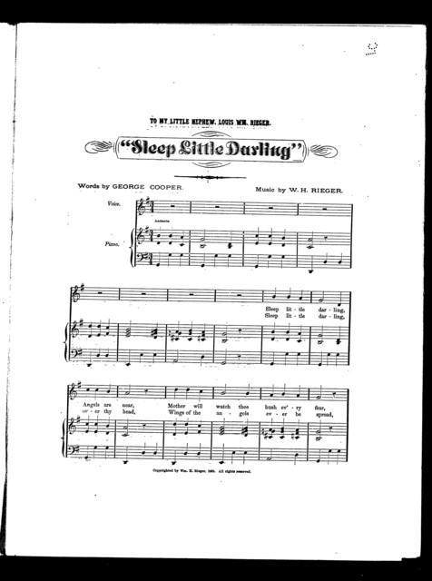 Sleep little darling