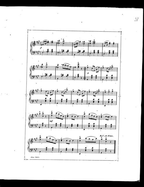 Slow waltz; or, Mazurka