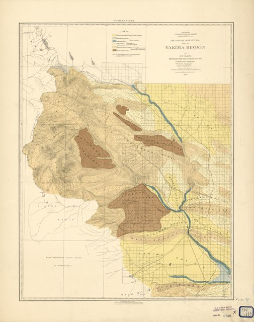 Soils of the Yakima and Colville regions /