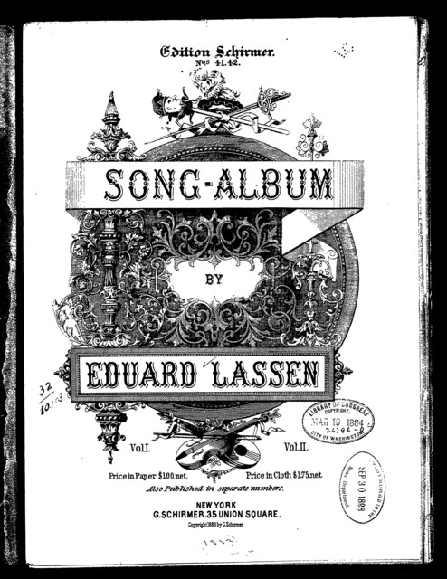 Song-album, volume 1