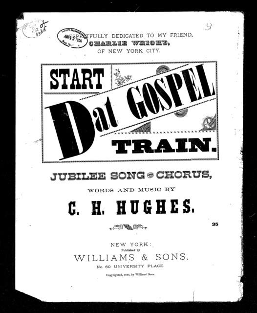 Start dat gospel train