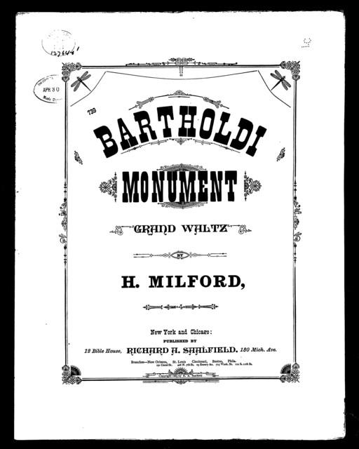 The  Bartholdi monument waltz