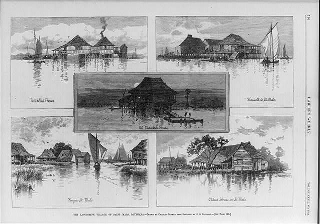 The Lacustrine Village of Saint Malo, Louisiana