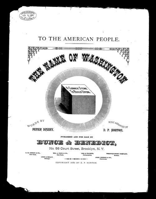 The  Name of Washington
