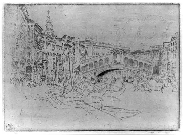 The Rialto, Venice, 1883