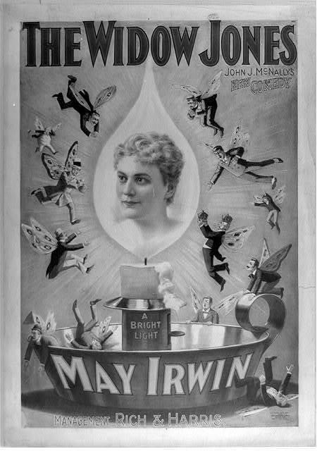 The widow Jones John J. McNally's new comedy.