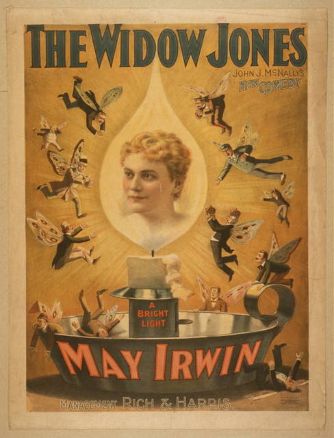 The widow Jones John J. McNally's new comedy.