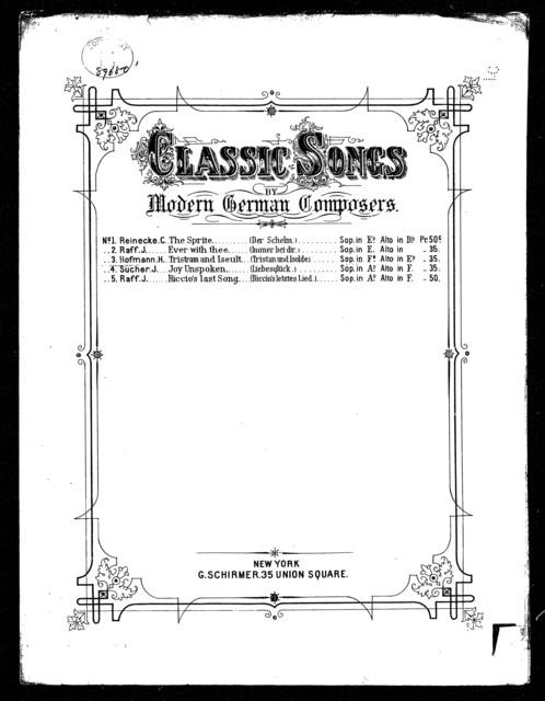 Tristram and Iseult - Tristan und Isolde