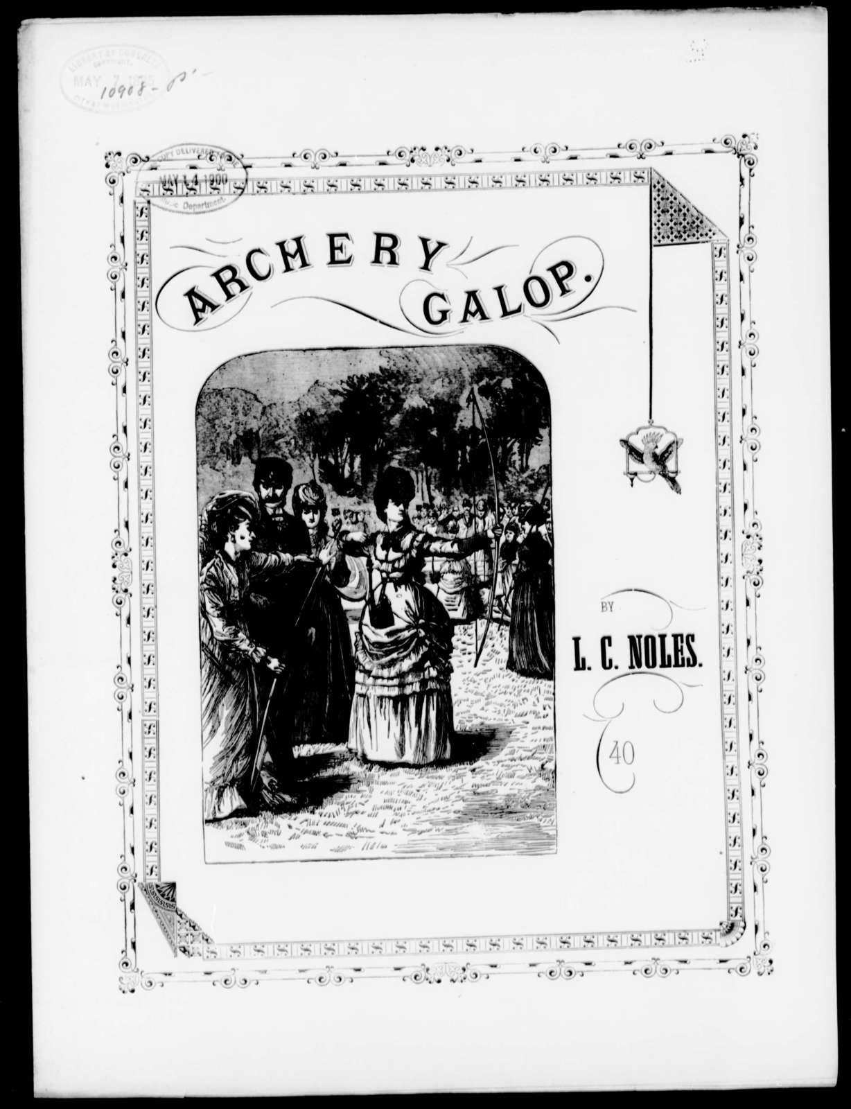Archery galop