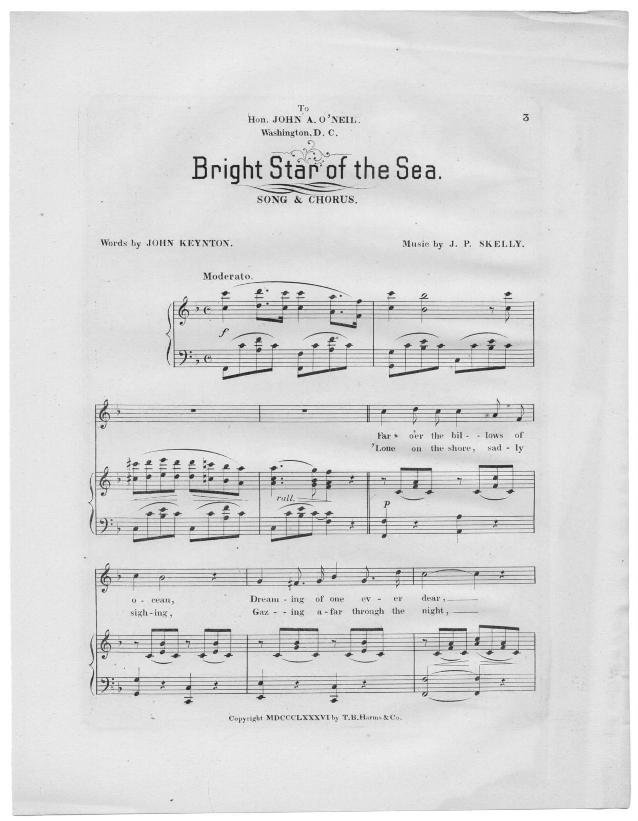 Bright star of the sea
