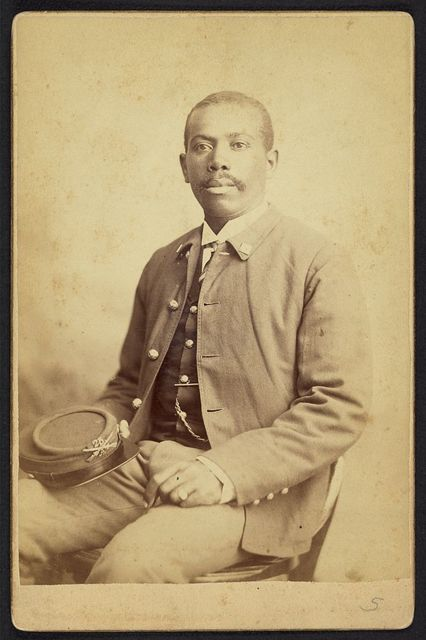 [Buffalo soldier, 25th Infantry, Co. A] / Goff.