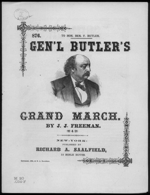 Butler's triumphal march