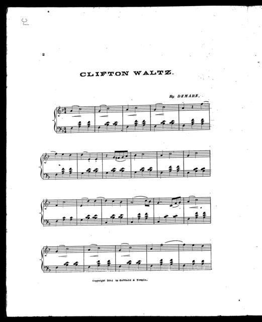 Clifton waltz