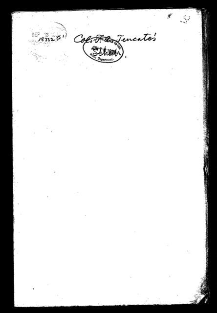 Col. F. A. Tencate's schottische