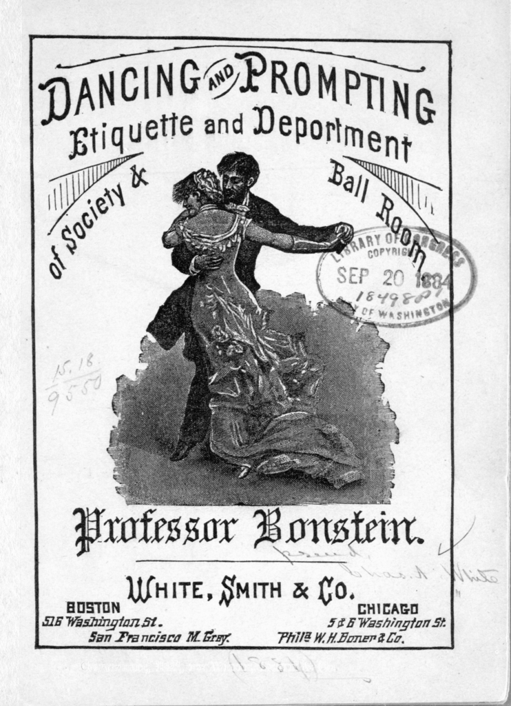 Dancing and prompting, etiquette and deportment of society and ball room