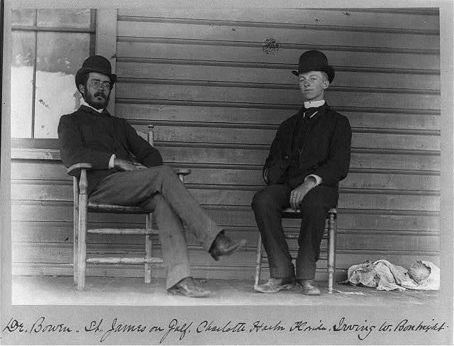 Dr. Bowen, St. James on Gulf, Charlotte Harbor, Florida, Irving W. Bonbright