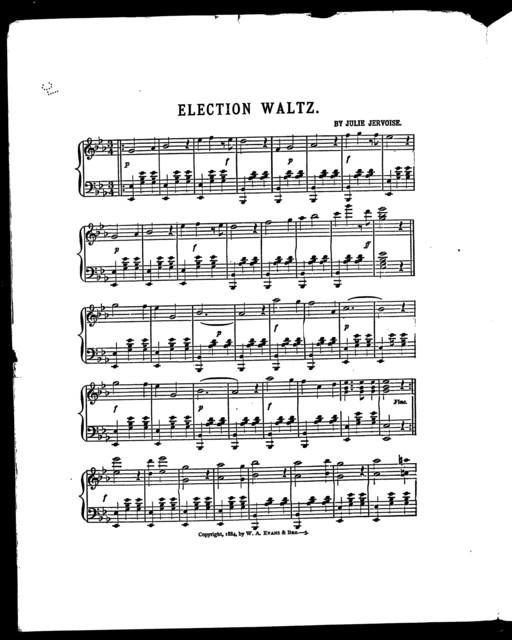 Election waltz