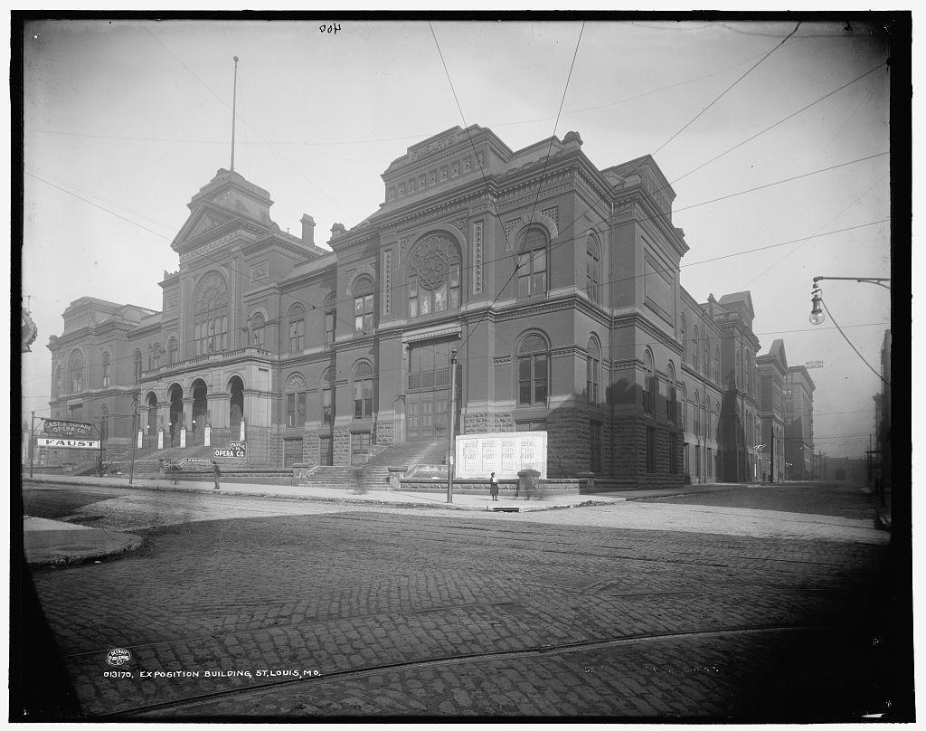 Exposition Building, St. Louis, Mo.