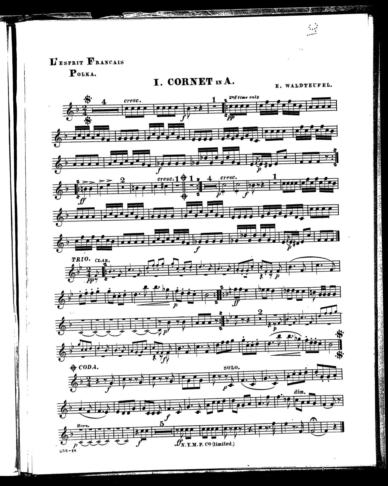 Forest sounds polka [and] L'Esprit Francais polka - PICRYL Public